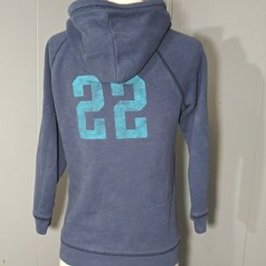 Hollister Tops - 3/$20 Hollister Hoodie Blue/White Size Med